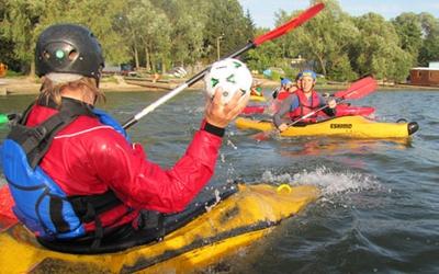 На Тернопільському ставі займаються новим видом спорту
