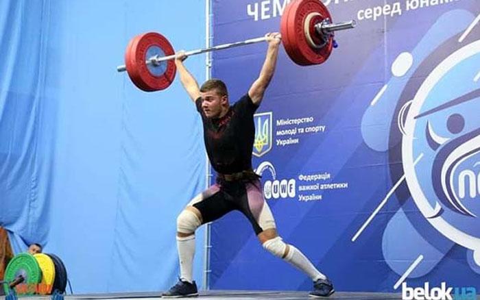 Важкоатлет із Тернопілля Ігор Півторак став бронзовим призером чемпіонату України серед юнаків та дівчат