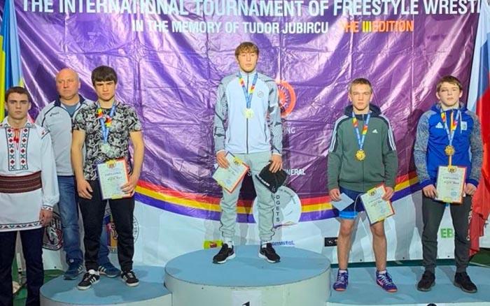 Андрій Антонюк - бронзовий призер міжнародного турніру з вільної боротьби в Молдові