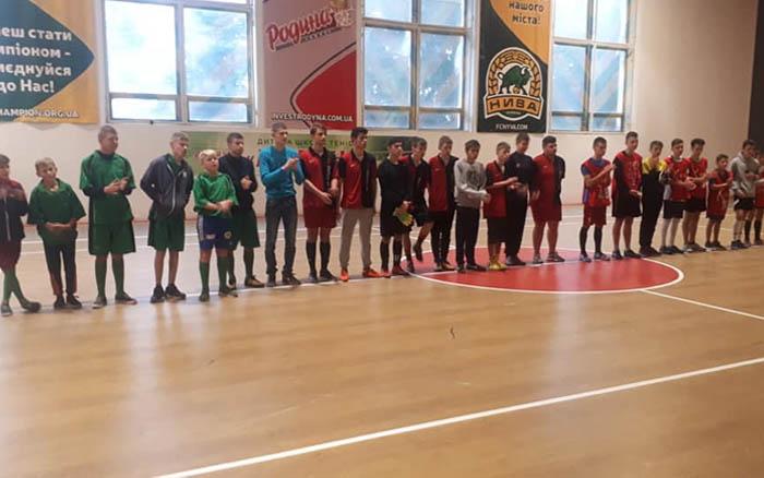 В Тернополі провели Відкритий Кубок з міні - футболу серед спеціальних навчальних закладів