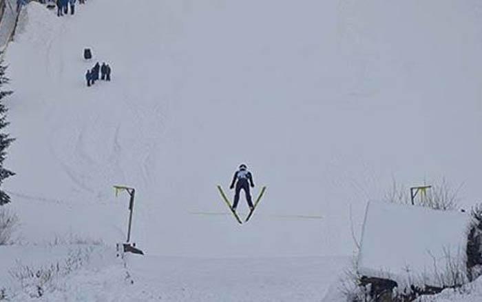 Команда Тернопільської області успішно виступила на чемпіонаті України зі стрибків на лижах з трампліна