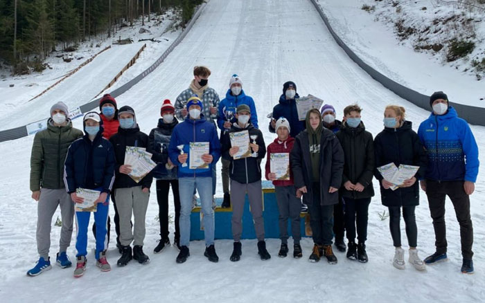 Тернопільські лижники зайняли призові місця на Чемпіонаті України в Карпатах
