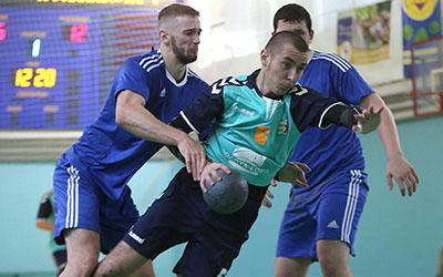 У Тернополі протягом трьох днів грали три чоловічих гандбольних клуби