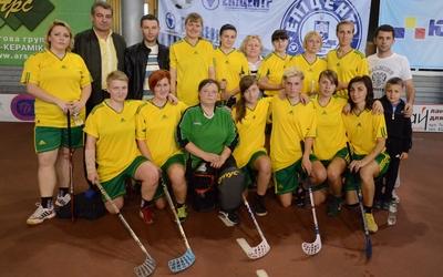 У Тернополі відбувся перший тур жіночої Вищої ліги з флорболу (ФОТО, ВІДЕО)
