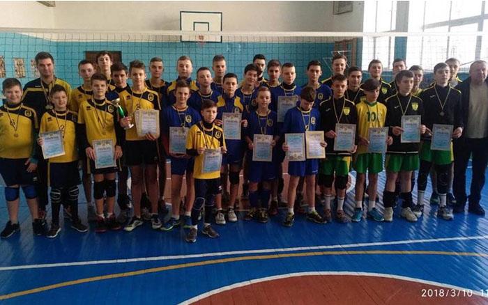 У Тернополі відбулися фінальні змагання обласної дитячо-юнацької волейбольної ліги