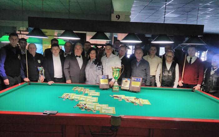 В Тернополі завершився чемпіонат України серед закладів вищої освіти з більярду
