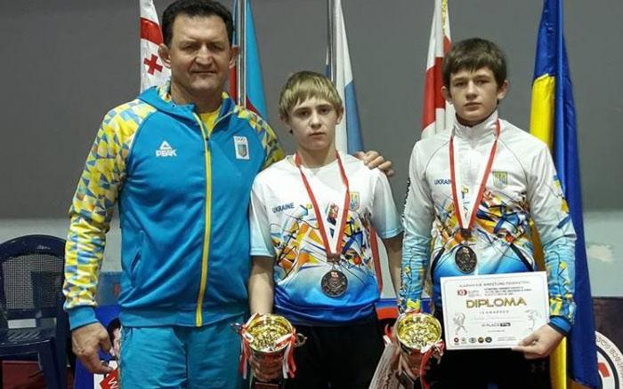Збаразькі борці з бронзою завершили сильніший міжнародний турнір