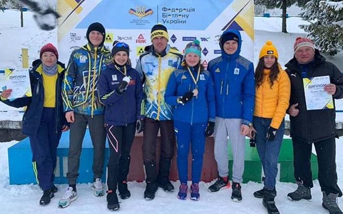 Біатлоністи Тернопілля вдало виступили у чемпіонаті України