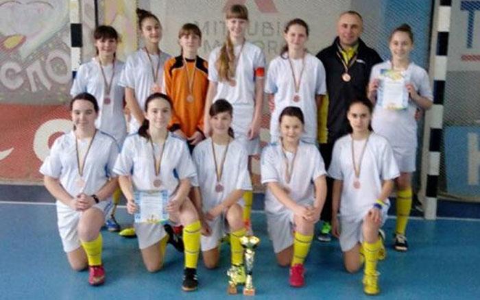Чемпіонки здобули бронзові медалі чемпіонату України