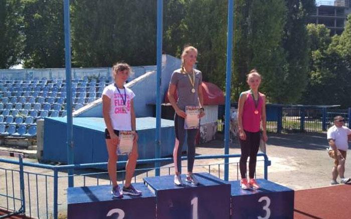 Тернопільська легкоатлетка стала Майстром спорту