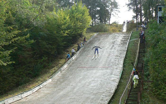 В Кременці відбудеться чемпіонат Тернопільської області з стрибків на лижах з трампліну