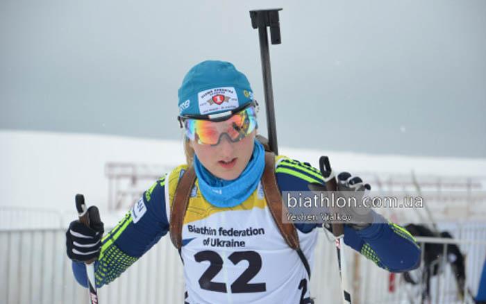 Олександра Усенко невдало провела спринт на Юніорському чемпіонаті світу