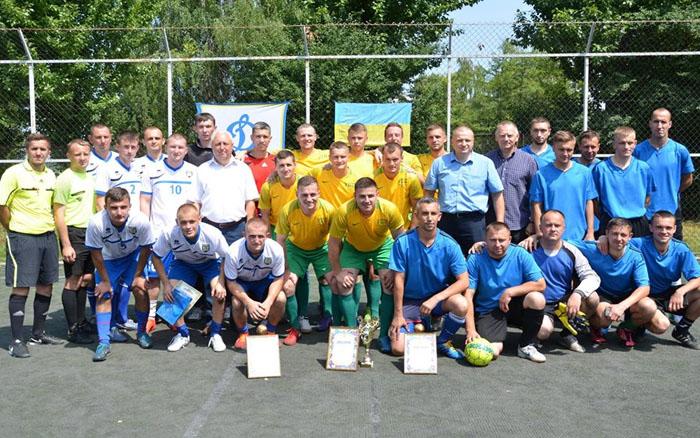 Правоохоронці Тернопільщини визначали кращу футбольну команду