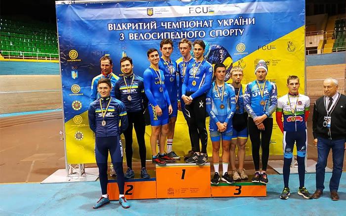 Тернопільські велосипедисти завоювали дванадцять нагород на чемпіонаті України