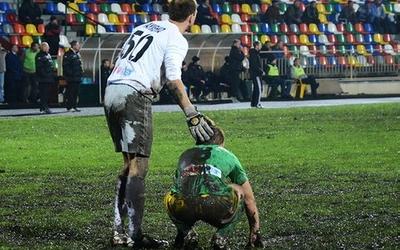 Що зробили з газоном на тернопільському стадіоні два кубкові матчі? (ФОТО)