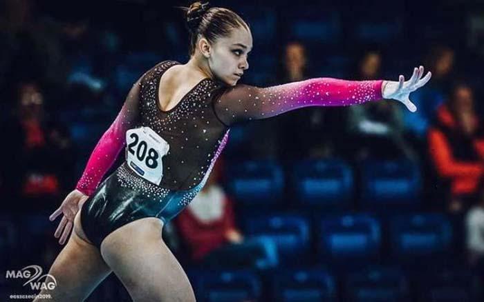Анастасія Бачинська – срібна призерка етапу Кубку світового виклику FIG у Парижі