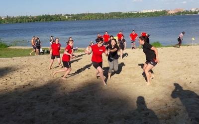 У Тернополі вперше відбувся чемпіонат з пляжного регбі