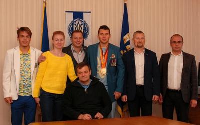 Олімпійці з Тернопільщини зустрілися з головою ОДА