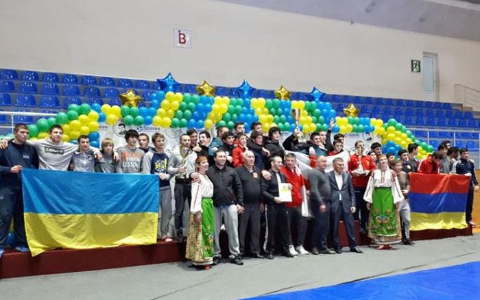 Борці з Тернопілля гідно виступили на сильнішому турнірі