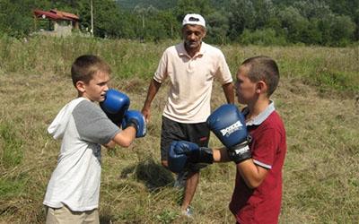 Юні боксери Івано-Франківської та Тернопільської областей зустрілись на березі Дністра