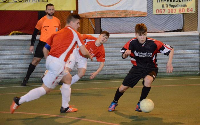 Тернопіль прийматиме фінал дитячої футзальної ліги