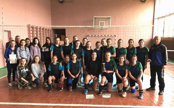 В Теребовлі провели відкриту першість Теребовлянської міської ОТГ з волейболу серед дівчат ЗОШ І-ІІІ ст