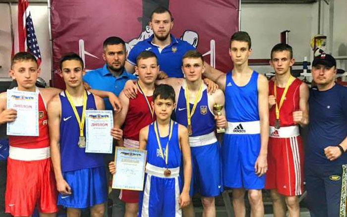 Тернополяни тріумфували на Міжнародному турнірі з боксу