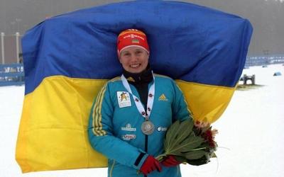 Анастасія Меркушина виграла одиночну естафету на кубку IBU