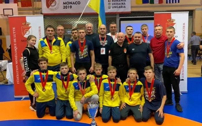 Тернопільські борці посіли третє місце у фіналі Європейської ліги