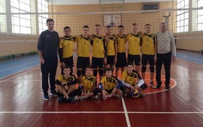 Тернопільські волейболісти стали другими у першому турі чемпіонату України