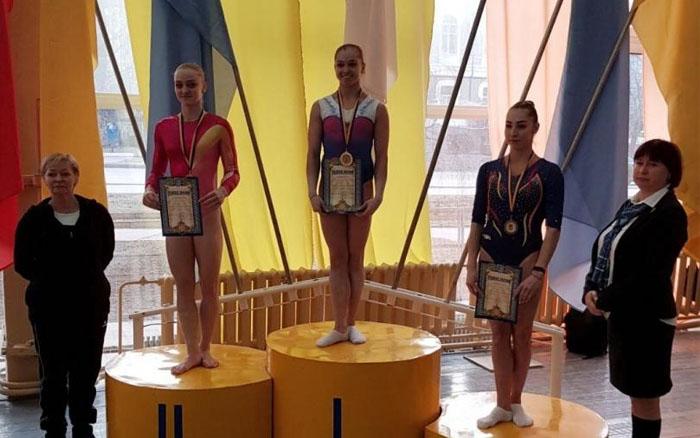 У тернопільської гімнастки Анастасії Бачинської – п'ять медалей чемпіонату України