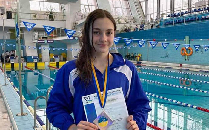 Полінa Циклaурі - бронзова призерка Чемпіонату України