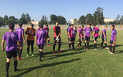 Розпочався другий навчально-тренувальний збір команди ДЮСШ Тернопіль 2000 р.н.
