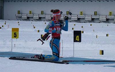 Марія Кручова не вдало провела спринтерську гонку Ленцерхайді