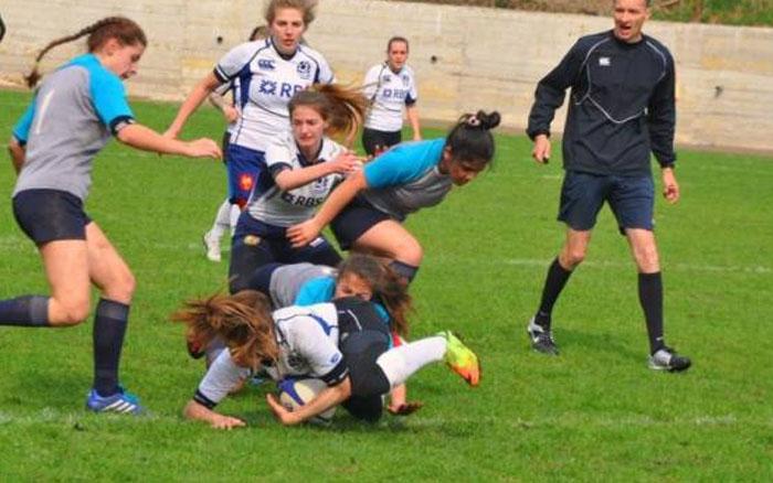 У Кременці відбувся перший тур жіночого чемпіонату України з регбі-7