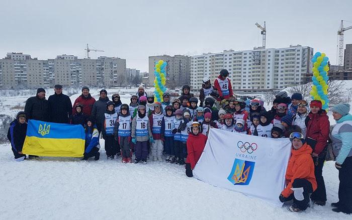 Чемпіонат Тернопільської області з лижного фристайлу присвятили українським олімпійцям(ВІДЕО)