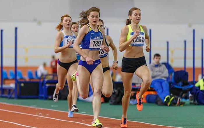 Оксана Долинчук – бронзова призерка Командного чемпіонату України з легкої атлетики в приміщенні