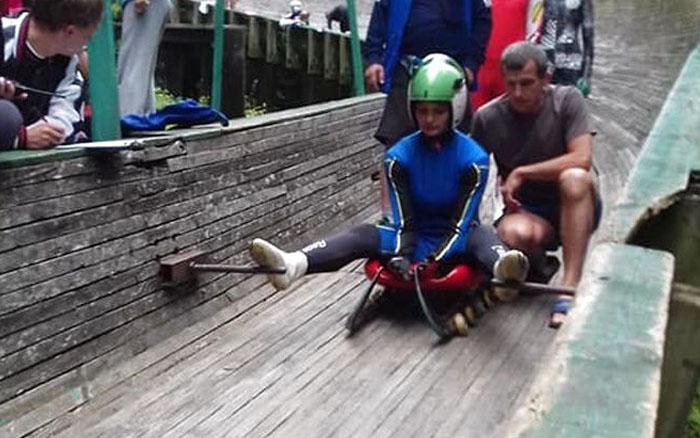 У Кременці відбувся юніорський чемпіонат України із санного спорту