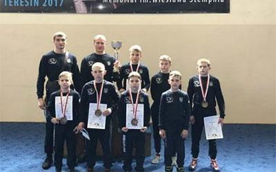 Три золоті медалі борці привезли з польського Тересіна