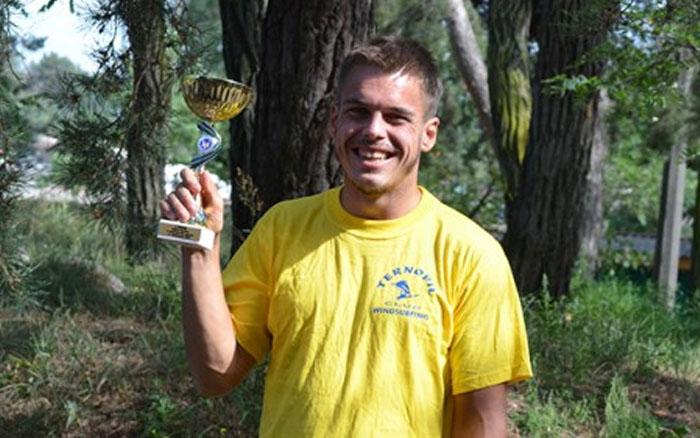 Олександр Тугарєв став володарем Кубку України з вітрильного спорту