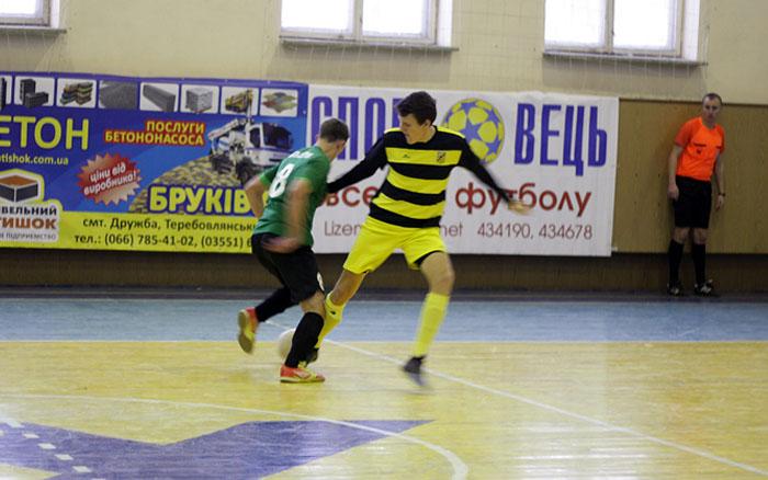 Результати 8-ого туру Вищої футзальної ліги Тернопільщини