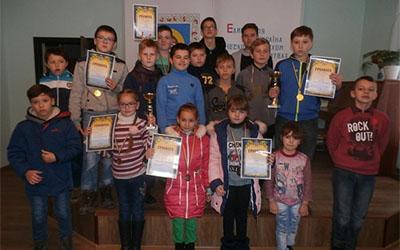 Юні шахісти змагались у Борщові
