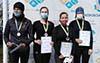 Чотири золотих та дві срібних медалі завоювали спортсменки з Тернополя на змаганнях з веслування