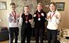 Чотири нагороди здобули тернопільські спортсмени на Відкритому чемпіонату України з кіокушин Будо карате